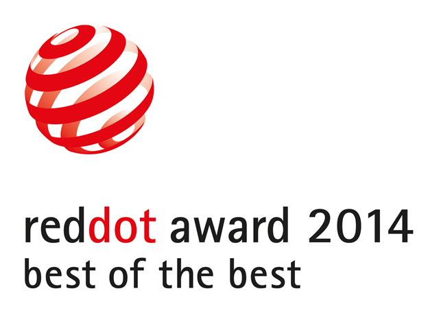 Red dot award for OBLX free-standing structure 2014
