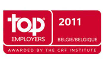 "Barco named ""Top Employer"" Belgium 2011"