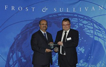 Barco receives Frost & Sullivan Award for Competitive Strategy Innovation