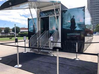 "Preview screening of ""Dunkirk"" on Barco projectors"