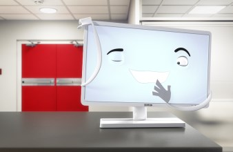 Barco's fully cleanable Eonis clinical and dental displays