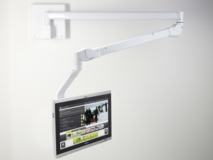 Barco's AC-AR05 arm for JAO smart terminal for interactive patient care