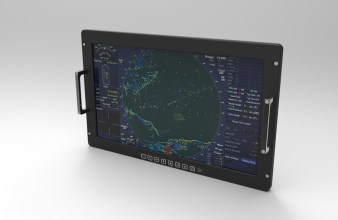 Barco's thin and lightweight TL-358/2 rugged display