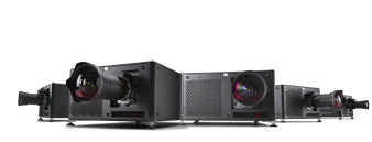 Large venue laser phosphor projectors