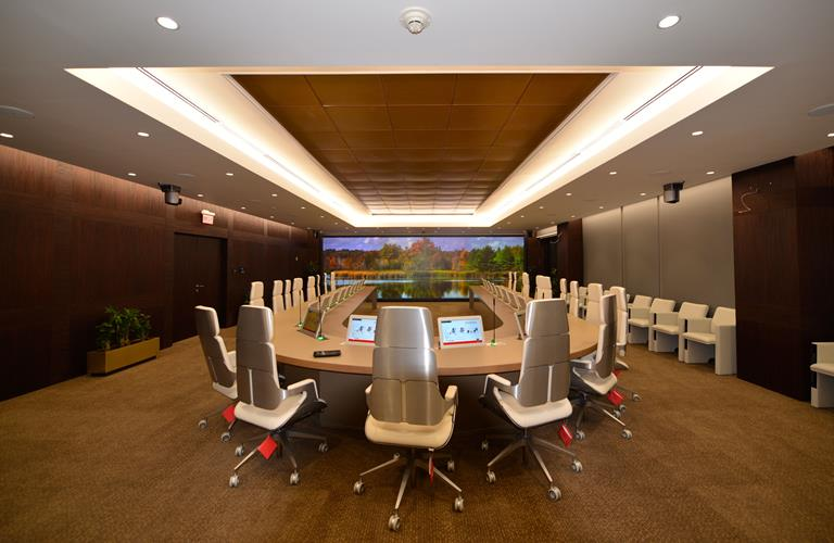 Aramco's boardroom features ClickShare