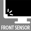 Front sensor for stabilized luminance