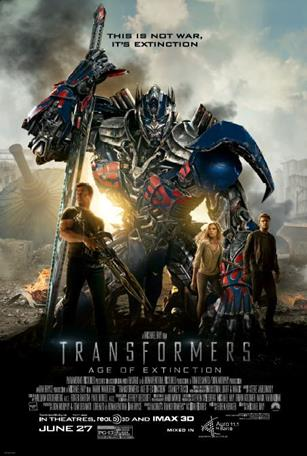 Transformers Age of extinction mixed in Auro 11.1