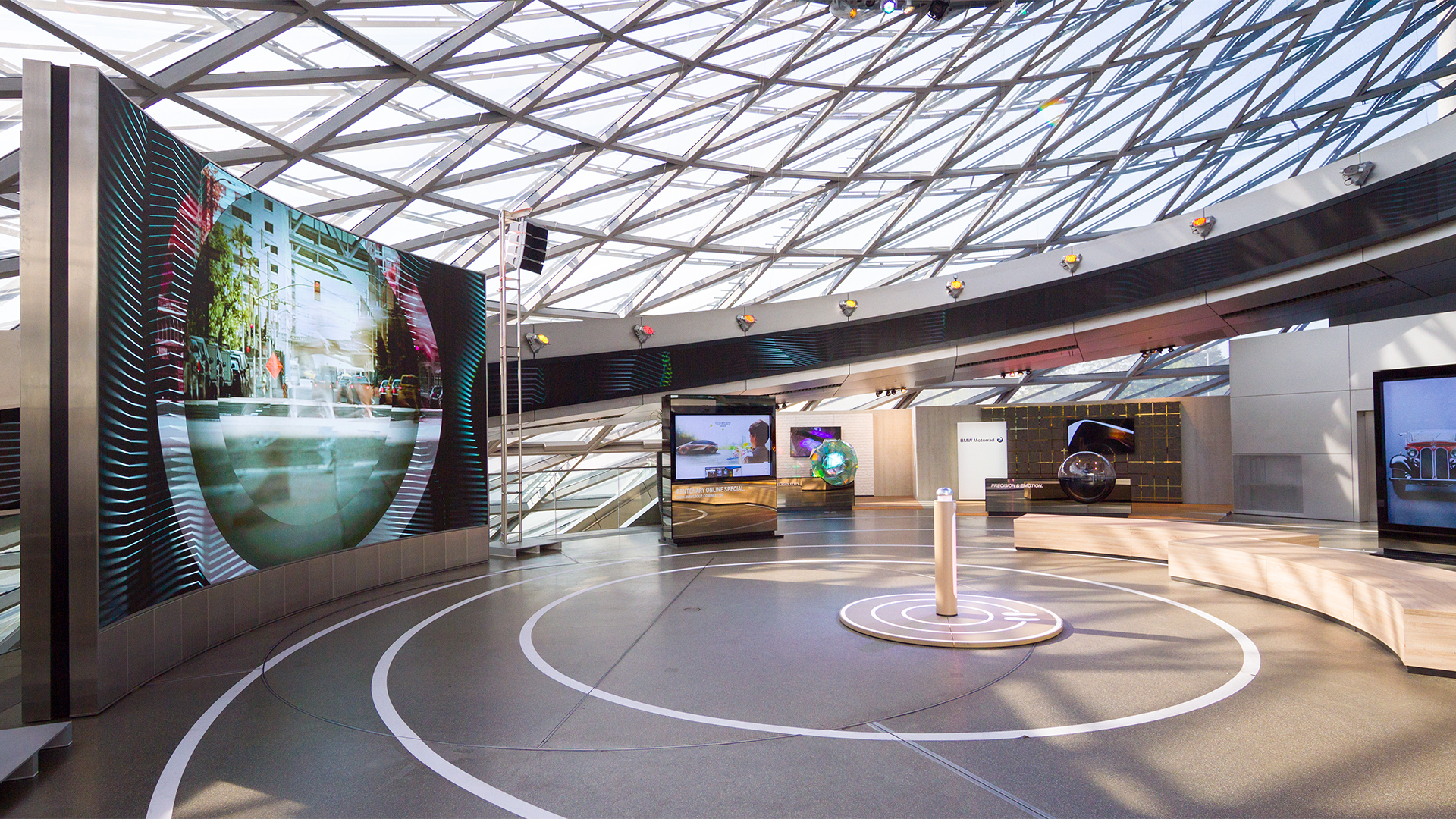 BMW goes bold and bright with Barco modular LED displays