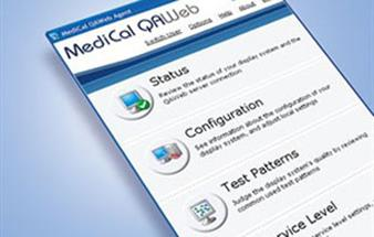 "Barco's medical display QA management software runs ""live"" at RSNA show"