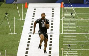Barco's medical displays score a touchdown at NFL Scouting Combine