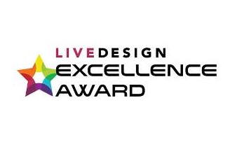 LiveDesign Excellence Award Logo