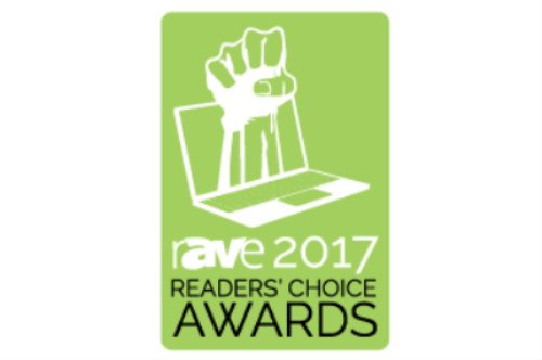 rave readers' choice logo