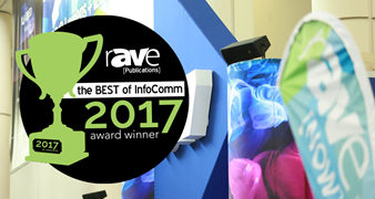 rAVe Pubs InfoComm Awards logo