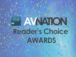 AVNation Awards Logo