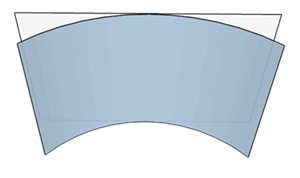 Screen curve