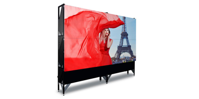 RGB laser video walls