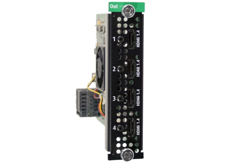 HDMI 1.4 Quad output card