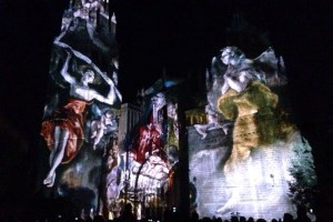 Luz Greco 2.0 projection mapping