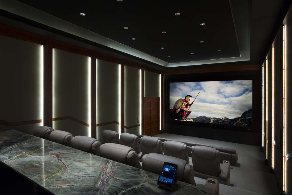 The Ultimate Cinema At Home Powered By Laser Projection