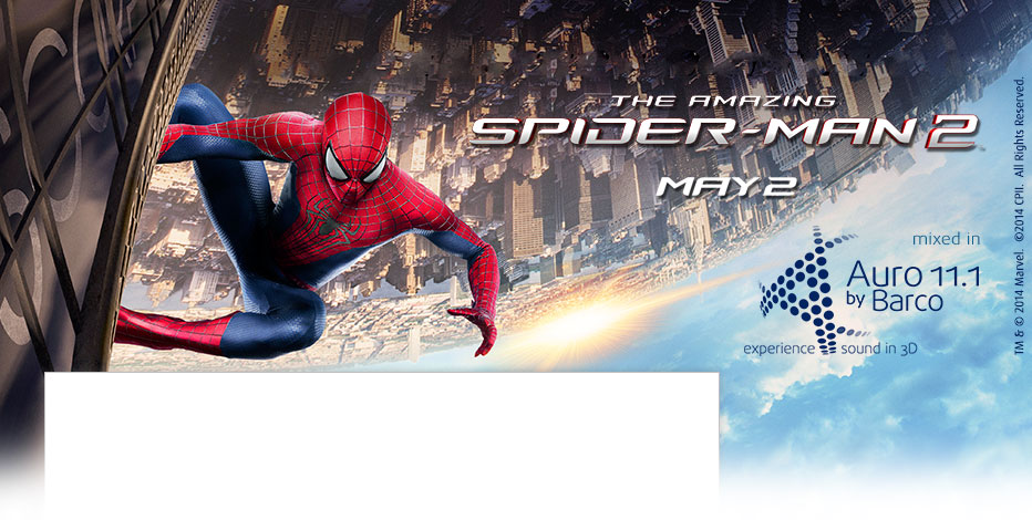 The Amazing Spider-Man 2 mixed in Auro 11.1